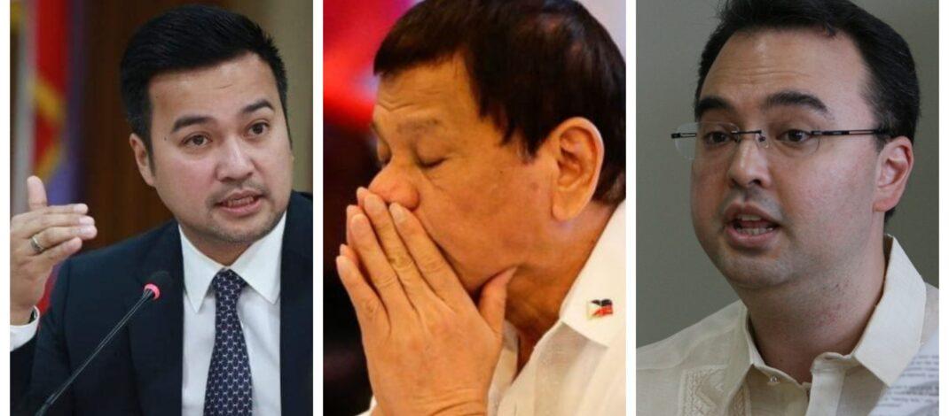 Lord Allan Velasco Alan Peter Cayetano Rodrigo Duterte House of Representatives Philippines