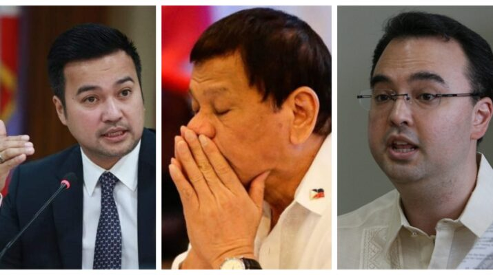 Lord Allan Velasco Alan Peter Cayetano Rodrigo Duterte House of Representatives Philippines