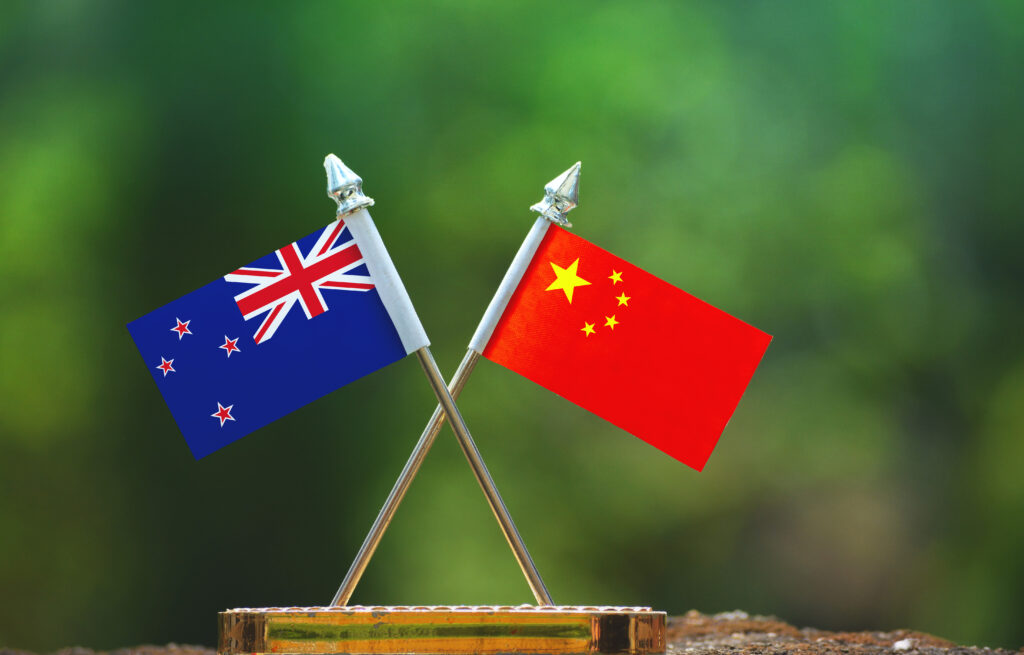 New Zealand China foreign relations