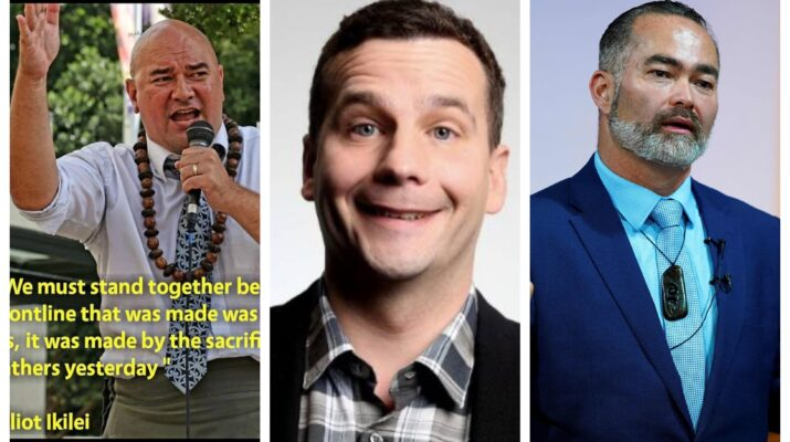 Elliot Ikilei David Seymour Billy Te Kahika fringe parties new zealand elections