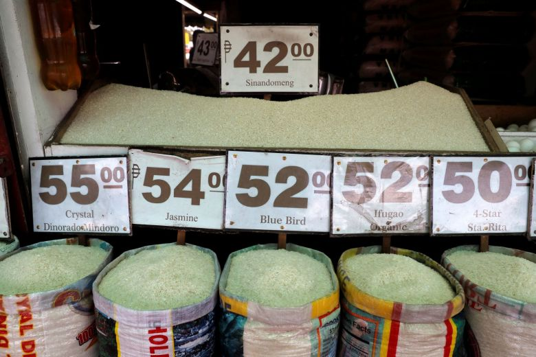 Philippine rice prices 2018 Reuters photo