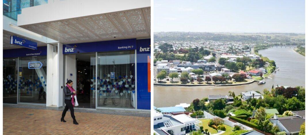 Bank of New Zealand BNZ Whanganui regional Banking Hub
