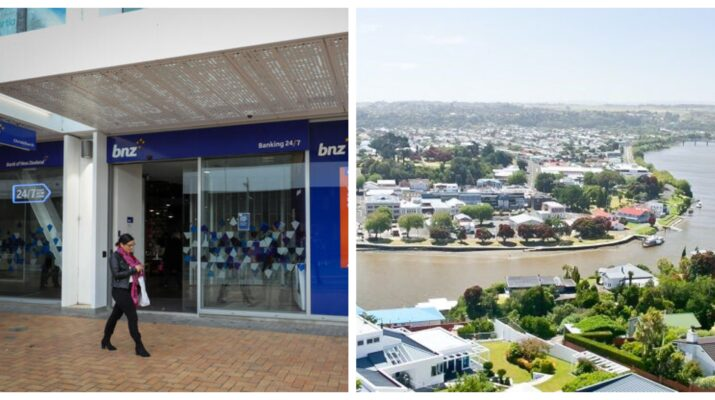 Bank of New Zealand BNZ Whanganui regional Banking Hub