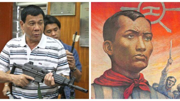 Andres Bonifacio Rodrigo Duterte red-tagging Philippines Katipunan Magdalo