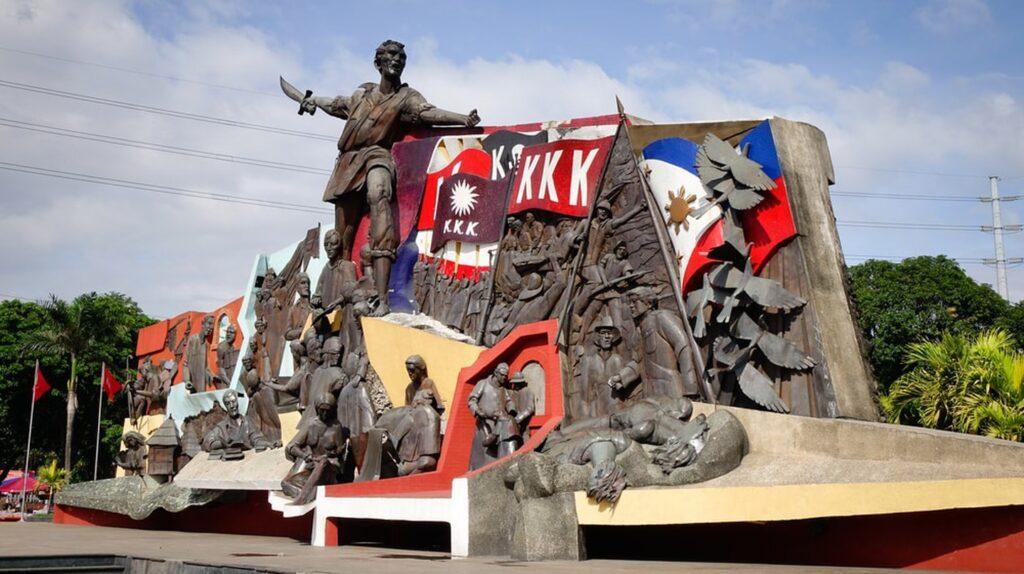 Bonifacio Shrine Manila Andres Bonifacio monument