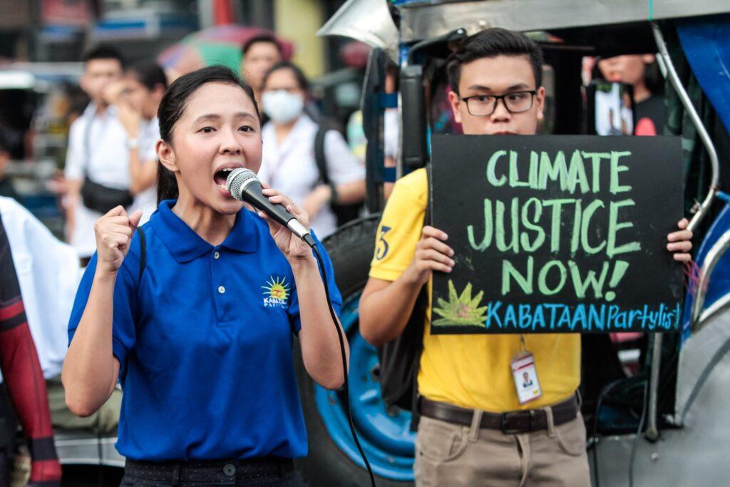 Kabataan Party-list Sarah Elago Youth Strike for Climate