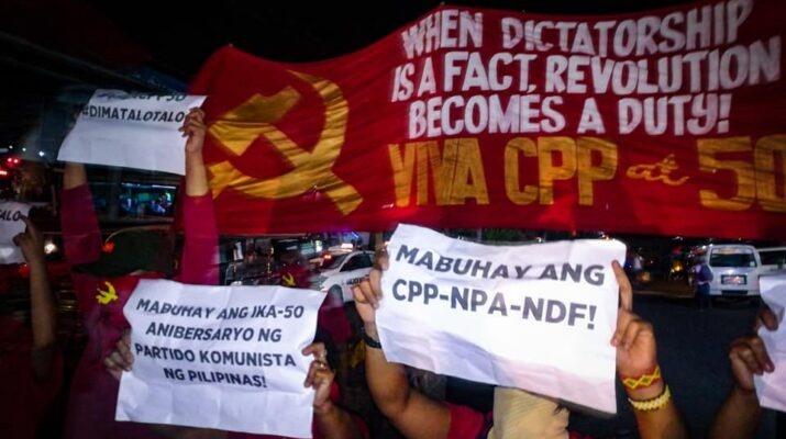 CPP NPA NDF lightning rally protest