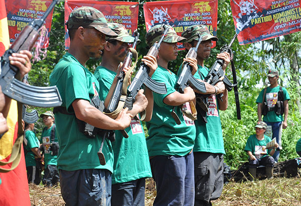 New People's Army cadres