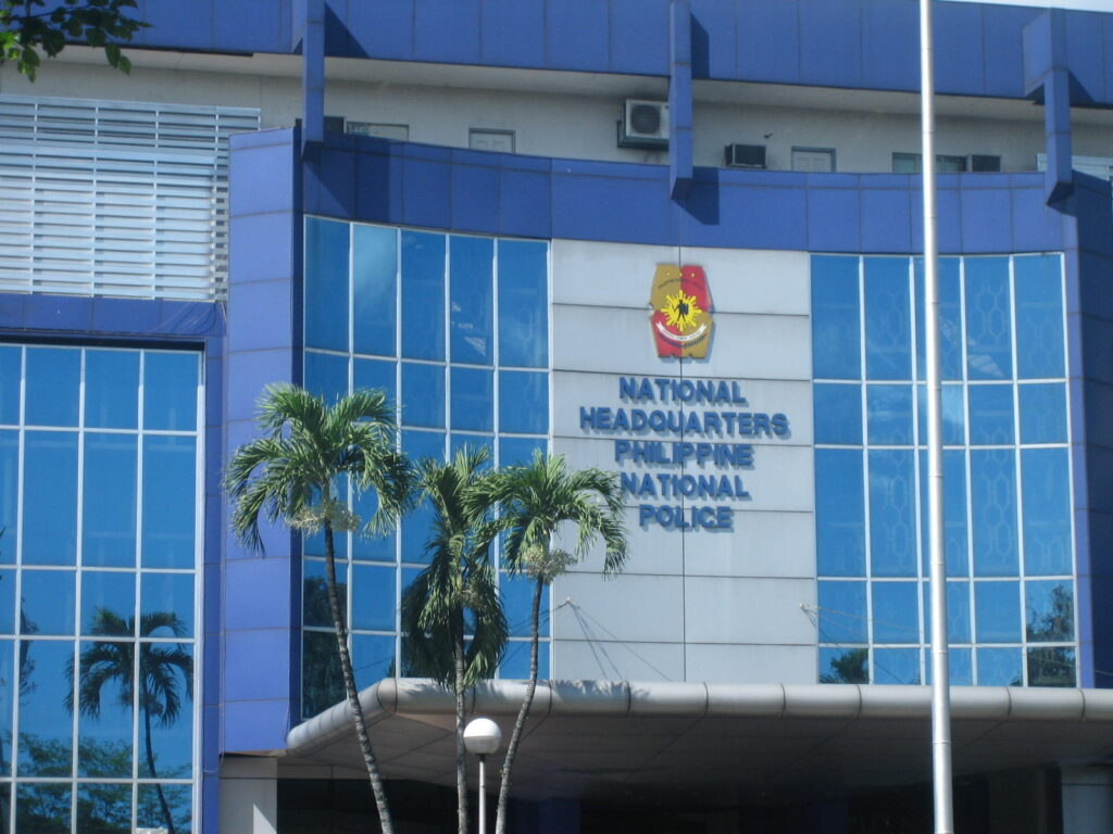 Philippine National Police PNP Camp Crame war on drugs Rodrigo Duterte