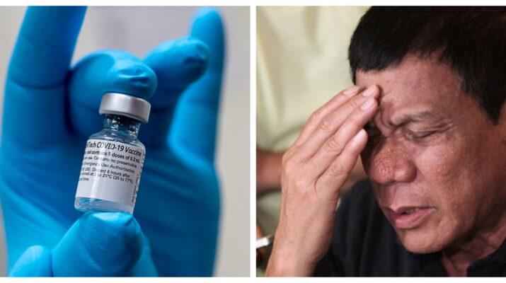 Rodrigo Duterte COVID-19 vaccines Armed Forces of the Philippines VIP vaccinations