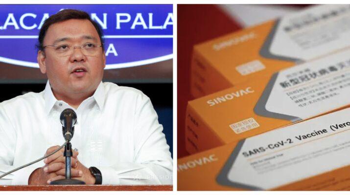 Harry Roque Rodrigo Duterte Sinovac vaccine