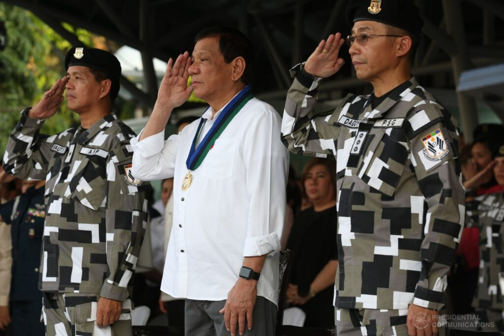 Presidential Security Group Rodrigo Duterte Armed Forces of the Philippines