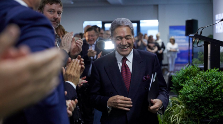 Winston Peters New Zealand First Convention