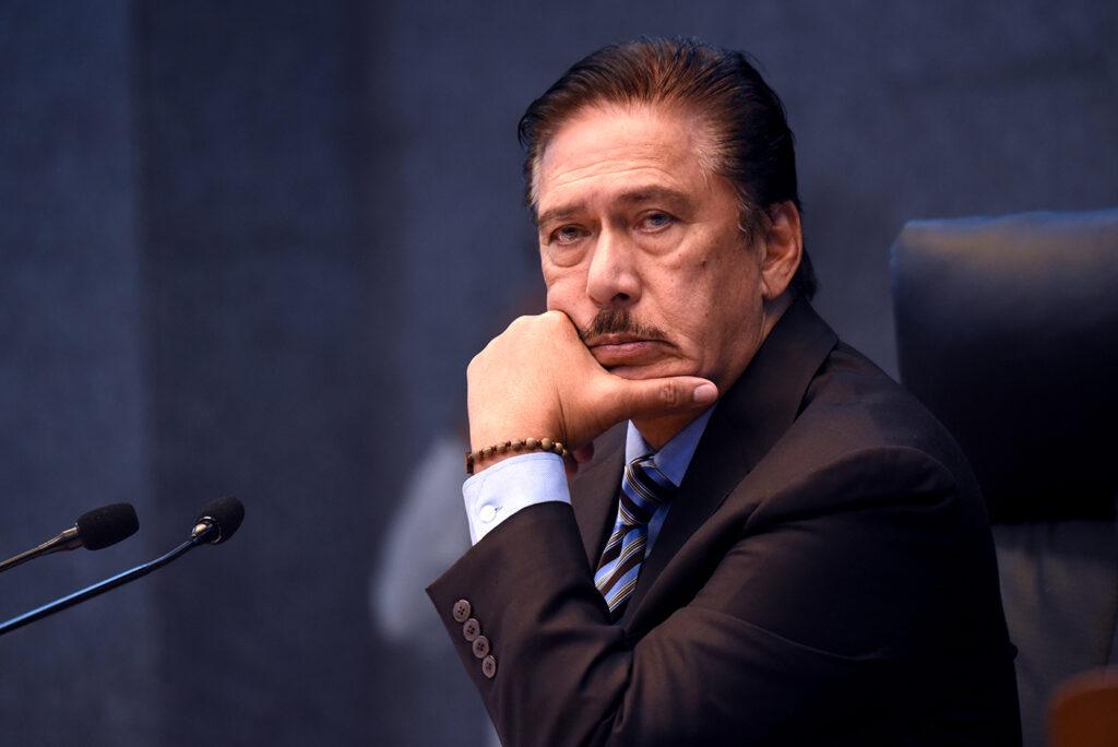 Senate President Tito Sotto Vice-President 2022 Elections