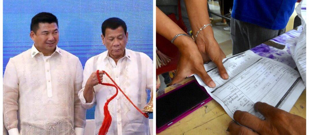 Halalan2022 Dennis Uy and Rodrigo Duterte