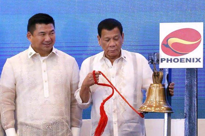 Dennis Uy Rodrigo Duterte Phoenix Petroleum Philippine Stock Exchange