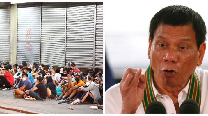 Rodrigo Duterte Manila Vaccination Isko Moreno